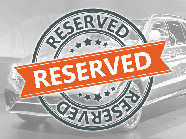 Reserve your vehicle online