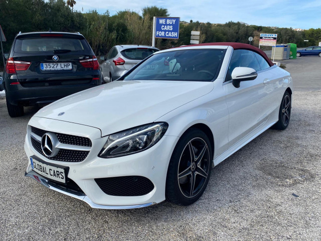 Mercedes C Class C200 Amg Line Cabriolet Photo